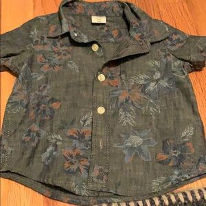 Baby GAP chambray button down 6-12 months